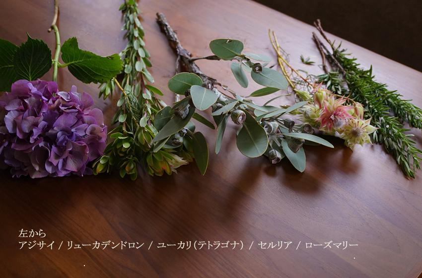 スワッグ 花 種類
