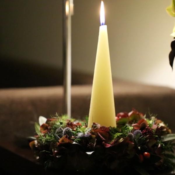 プリザ クリスマス リース