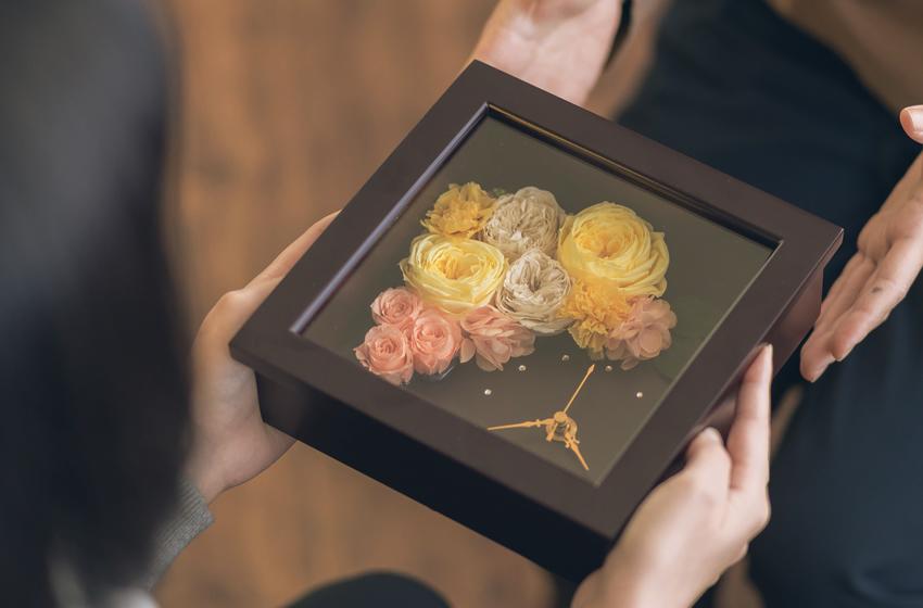 米寿に贈るプリザーブドフラワーのお花